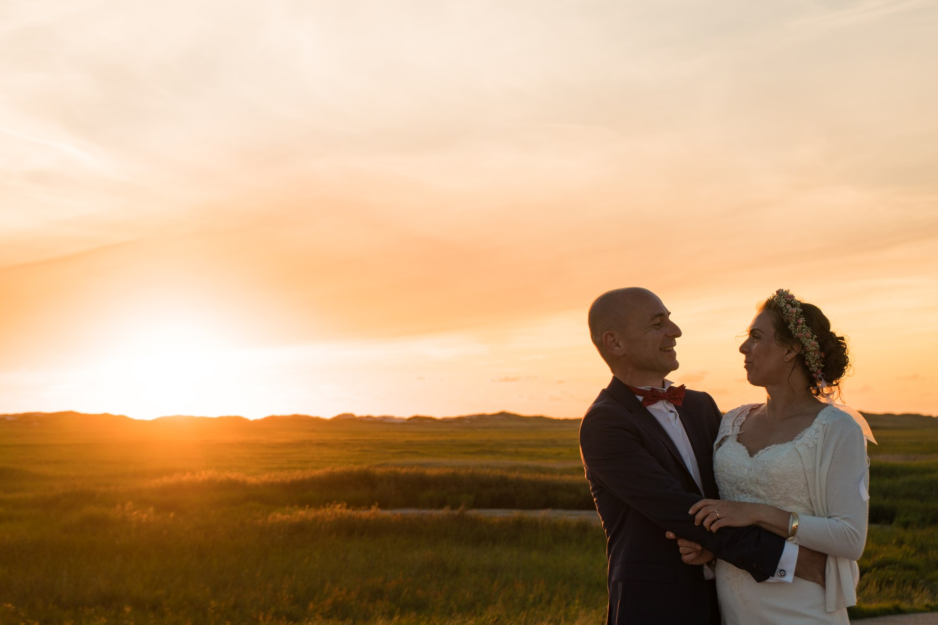 Hochzeitsfotografie am Strand von Sankt Peter Ording