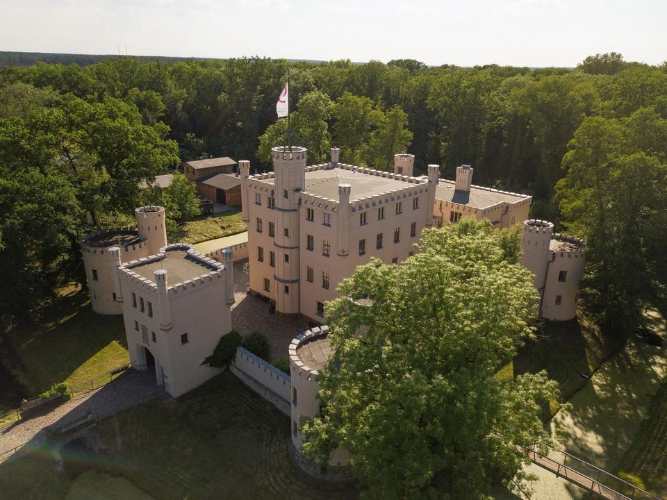 Drohnenbild Luftbild Schloss