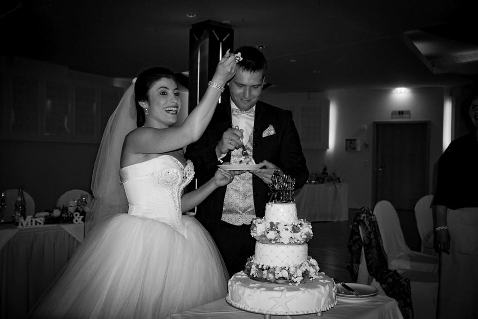 Hochzeitstorte Fotografie