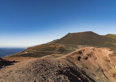 La Palma Wanderung Teneguia Vulkan