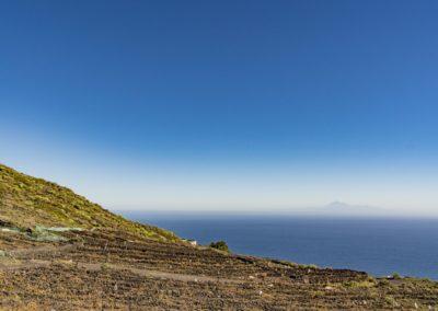 La Palma Wanderweg Teneguia Vulkan