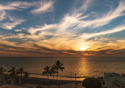 Puerto Naos Sonnenuntergang La Palma