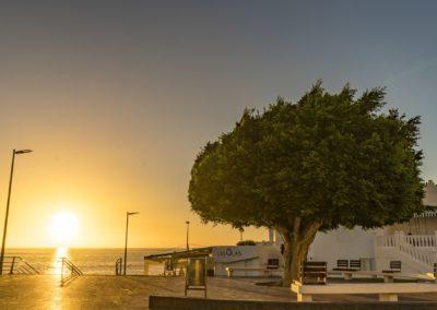 Sonnenuntergang La Palma Insel Puerto Naos
